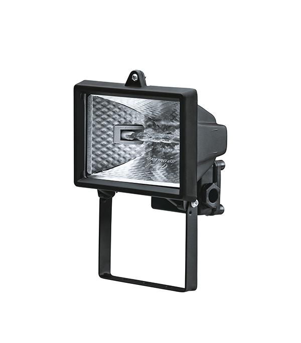 Прожектор галогенный  150 Вт, черный
