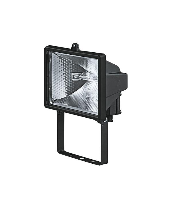 Прожектор галогенный  500 Вт, черный