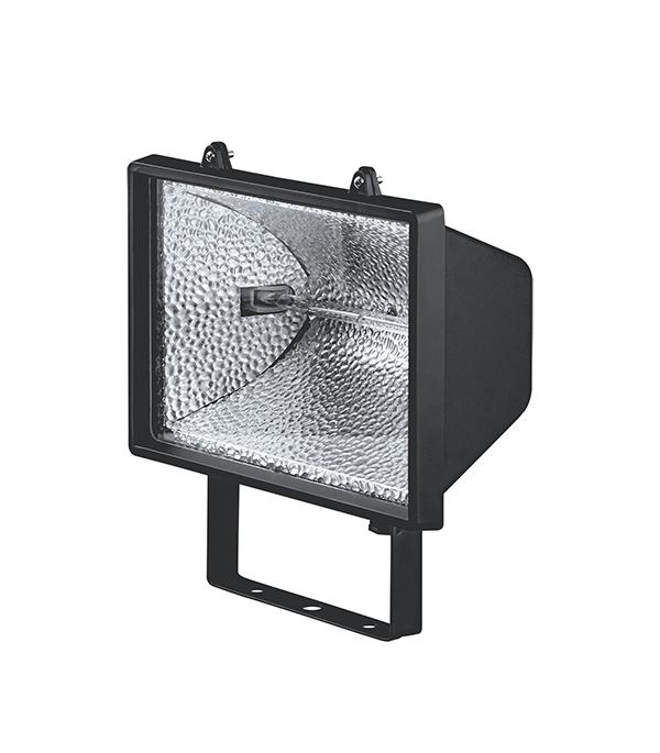 Прожектор галогенный 1000 Вт, черный