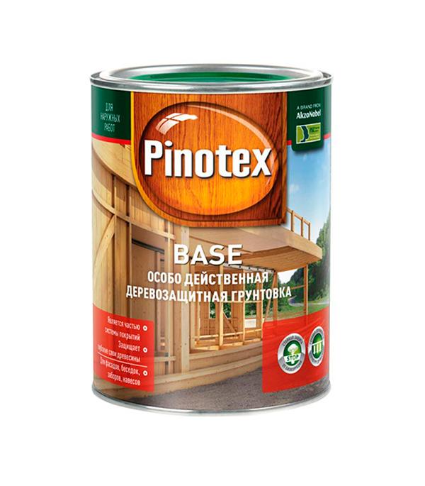 Грунт-антисептик Pinotex Base 1 л  пинотекс base грунт 2 7 л