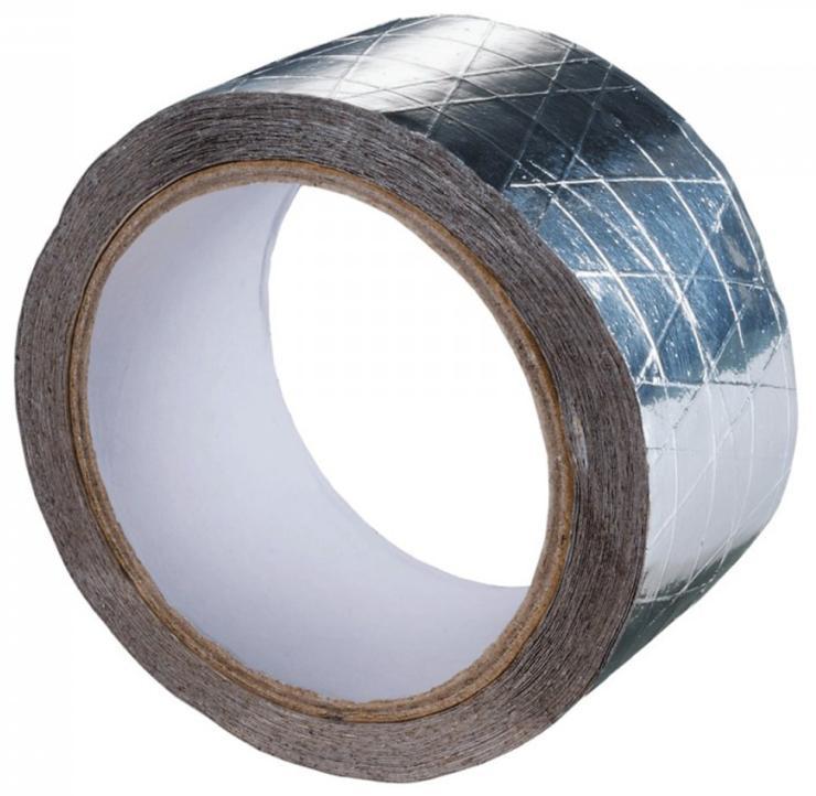 Лента монтажная алюминиевая армированная 50ммх50м