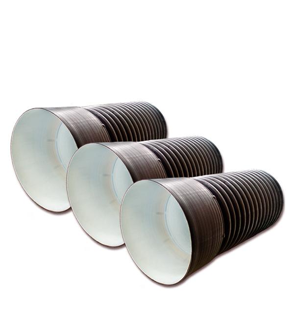 Трубадвустеннаягофрированнаяd460/400мм6м,сраструбом в г тула пластиковые трубы оптом цена труба 110 мм