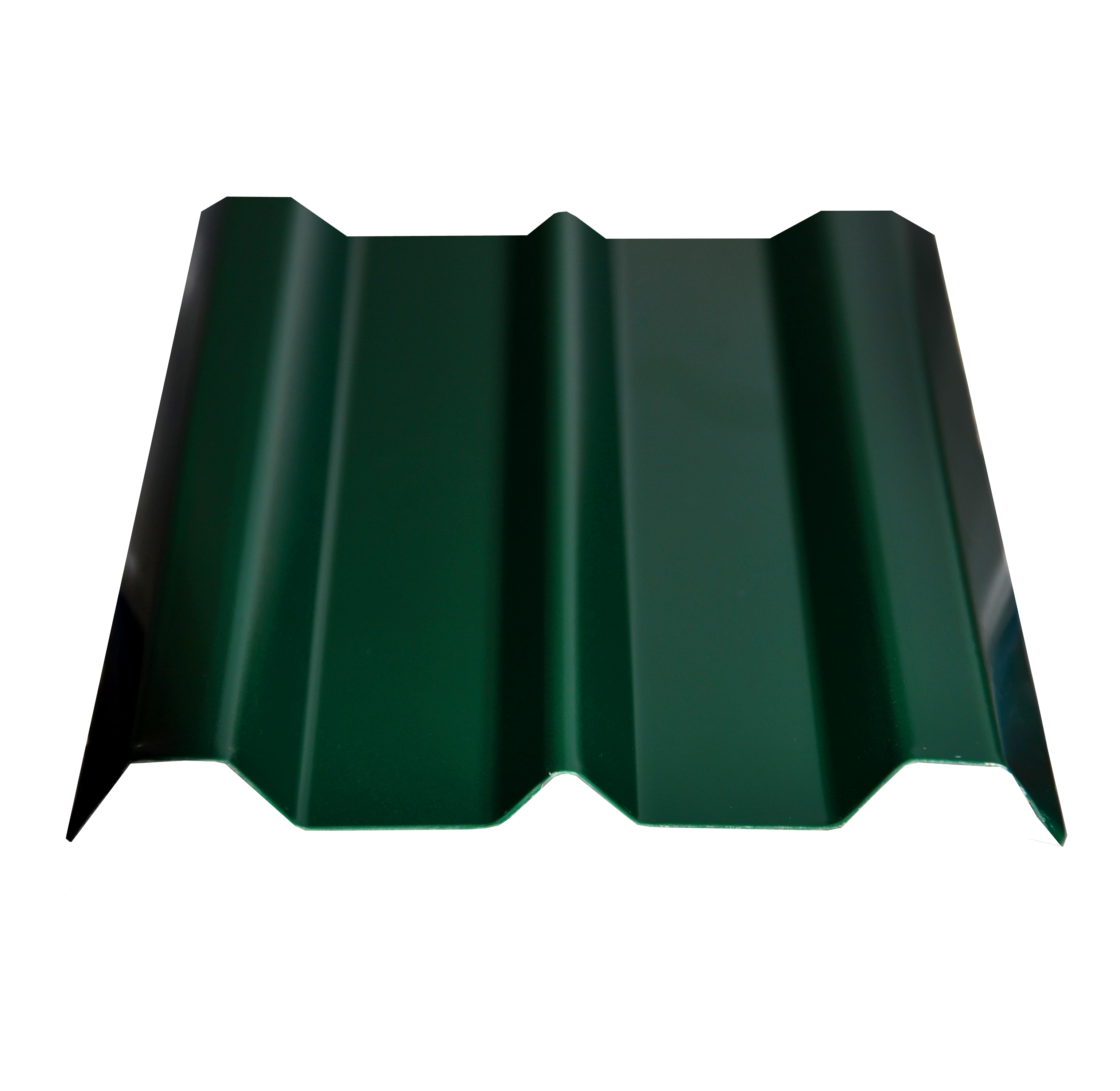 Евроштакетник 100х1500мм, толщина 0,4 мм зеленый