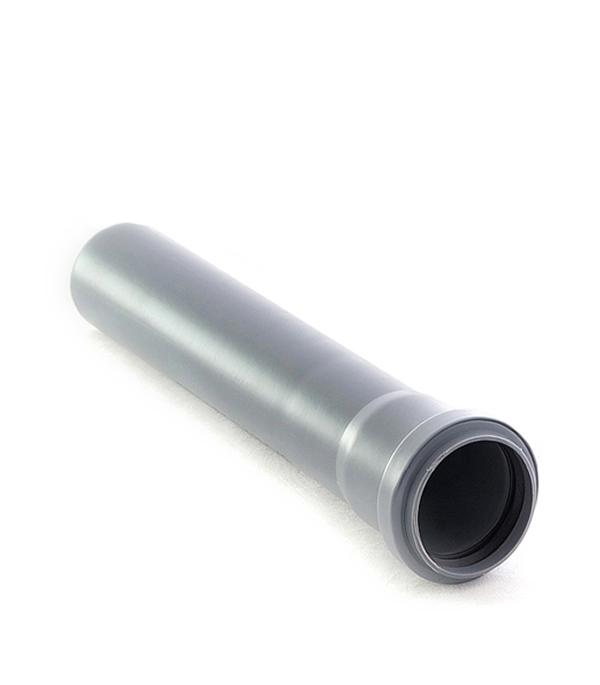 Труба канализационная внутренняя 110х2000 мм, РТП в г тула пластиковые трубы оптом цена труба 110 мм