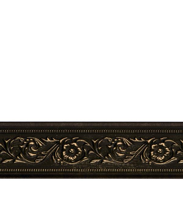 Плинтус Decomaster орех с золотом 50х11х2400 мм decomaster багет decomaster 808 552 размер 61х26х2900мм