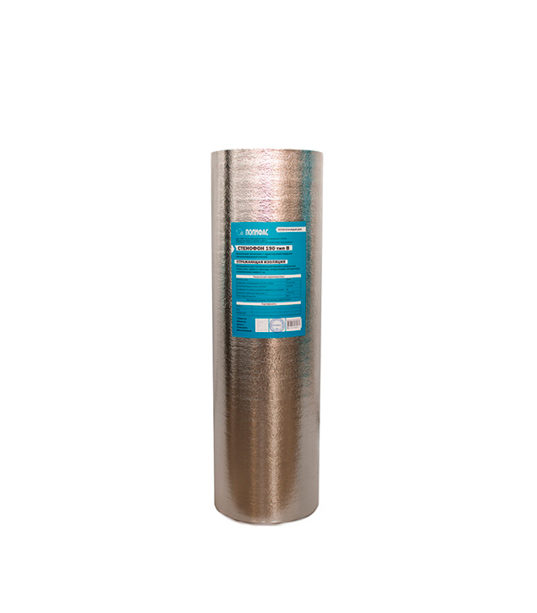 Теплоизоляция универсальная Стенофон 190 тип В 2мм (1х25 м) НПЭ ЛП