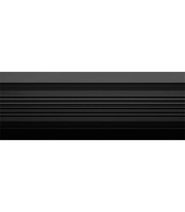 Порог  антискользящий 37х1000 мм черный