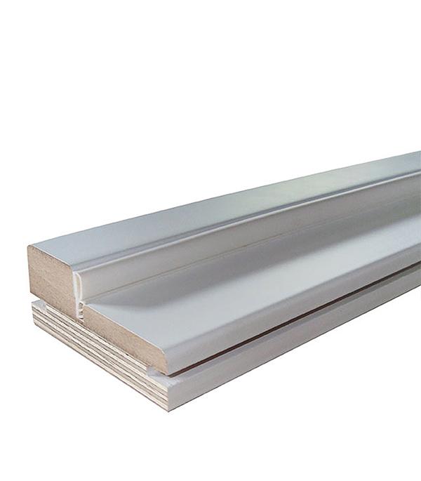 Коробка дверная эмалевая в комплекте Белая 70х2100х30 мм
