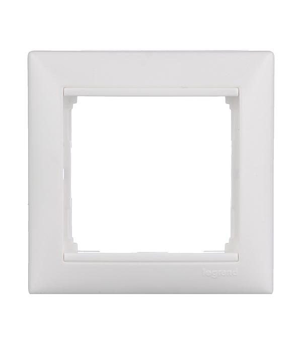 Рамка одноместная Legrand Valena белая  рамка legrand valena четырехместная белая 774454