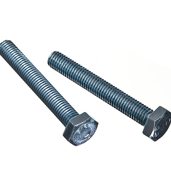 Болты оцинкованные М10х70 мм DIN 933 (15 шт) болты оцинкованные м12х80 мм din 933 10 шт