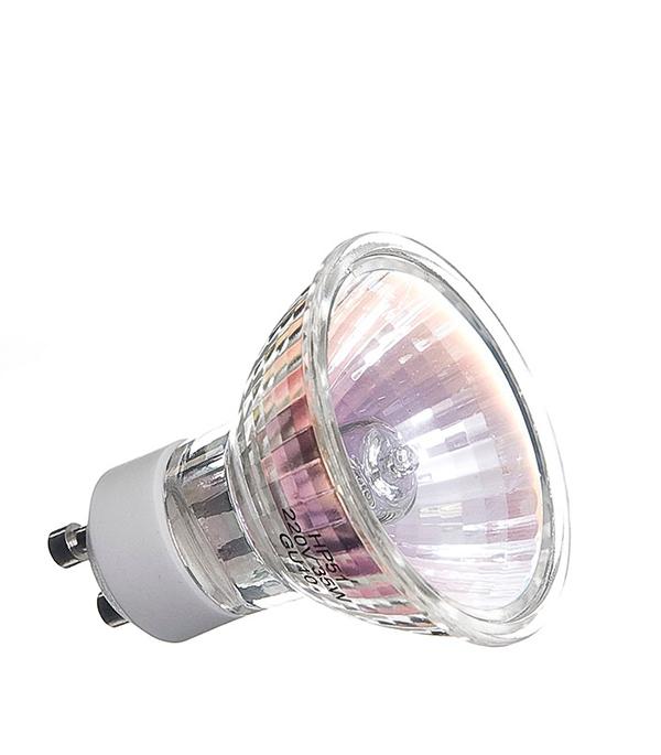 Лампа галогенная GU10, 35W, 220V