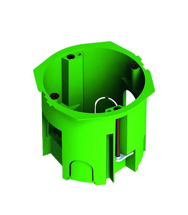 Коробка в гипрок установочная с мет. лапками d=68 мм, h=60 мм