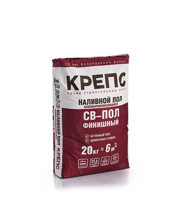 Крепс СВ-пол (ровнитель для пола финишный), 20 кг