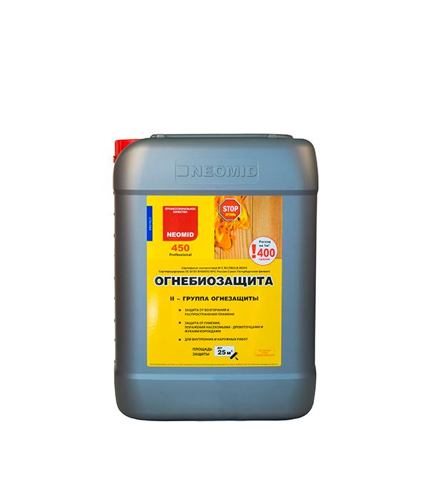 Антисептик Неомид 450 огнебиозащита II группа 10 кг