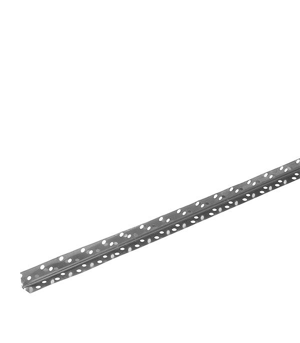 Профиль углозащитный (оцинкованный) 20х20 мм, 3 м Оптима  0,30 мм