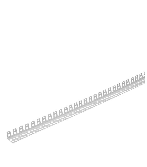Профиль углозащитный арочный (пластиковый) 25х25 мм,3 м