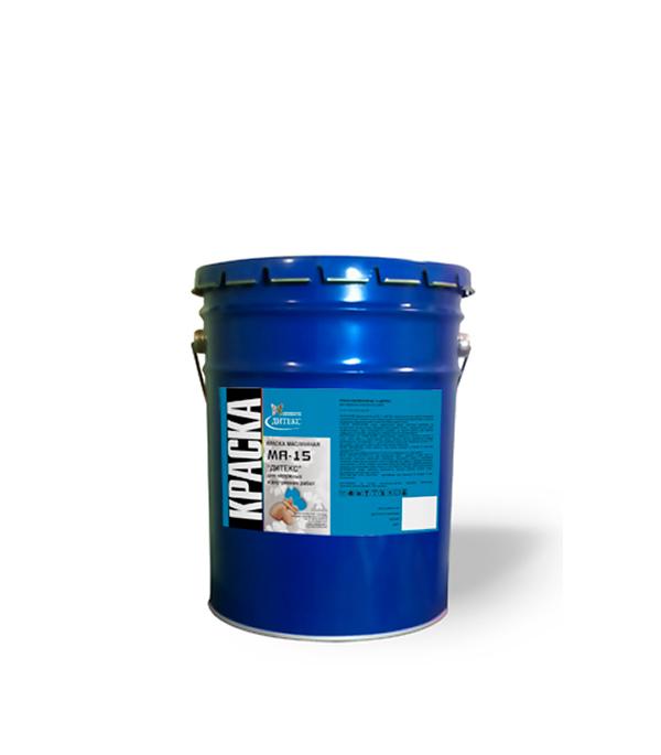 Краска масляная МА-15 салатовая Дитекс 26 кг