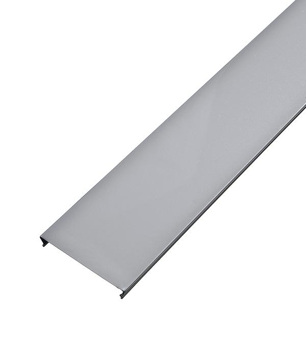 Рейка сплошная S-дизайн 100АS 3м белый жемчуг