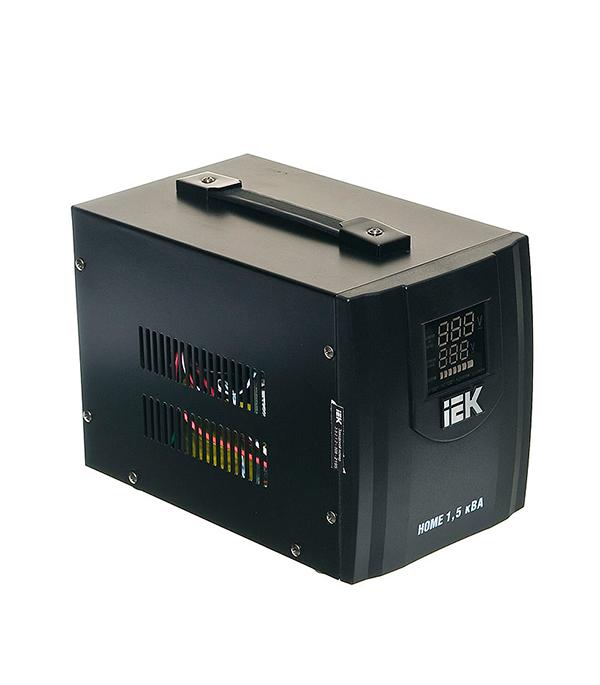 Стабилизатор напряжения IEK СНР1-0-1.5 кВА электронный переносной бытовой стабилизатор напряжения в омске