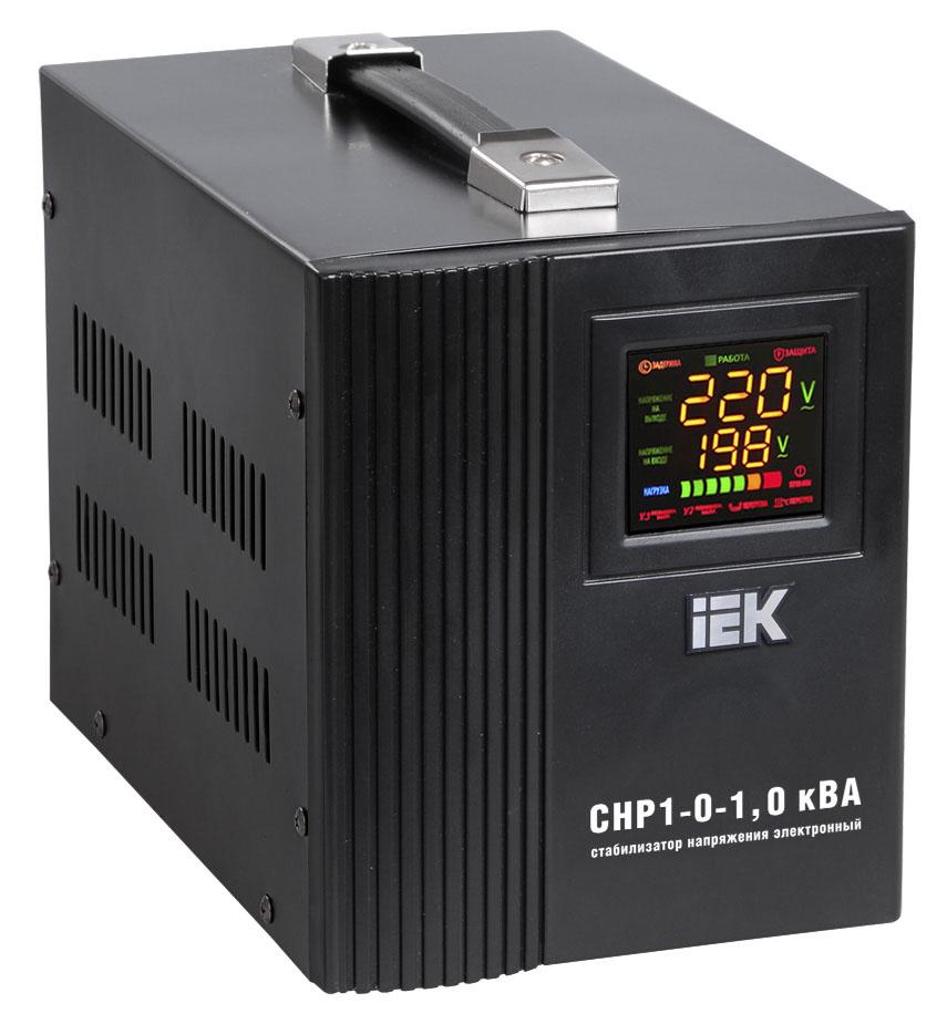 Стабилизатор напряжения СНР1-0-  1 кВА электронный переносной ИЭК