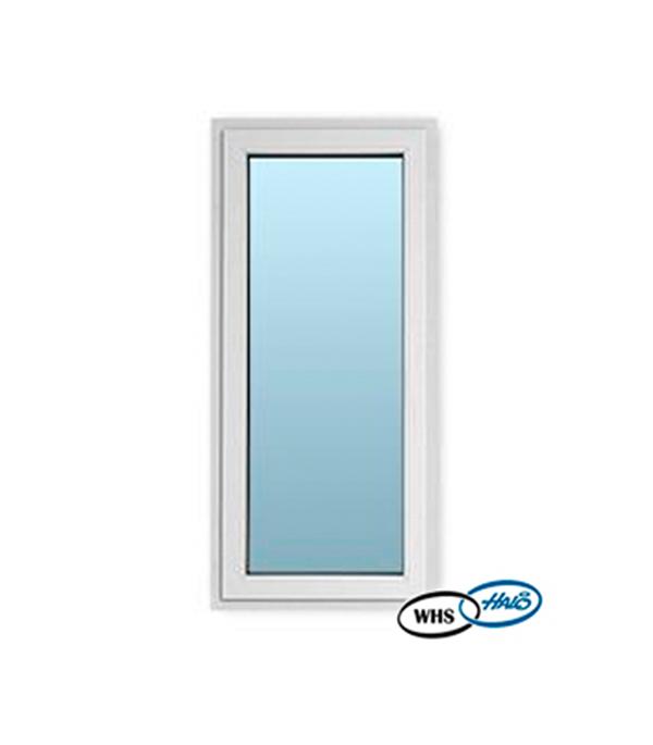 Окно металлопластиковое WHS 1160х800 мм белое глухое