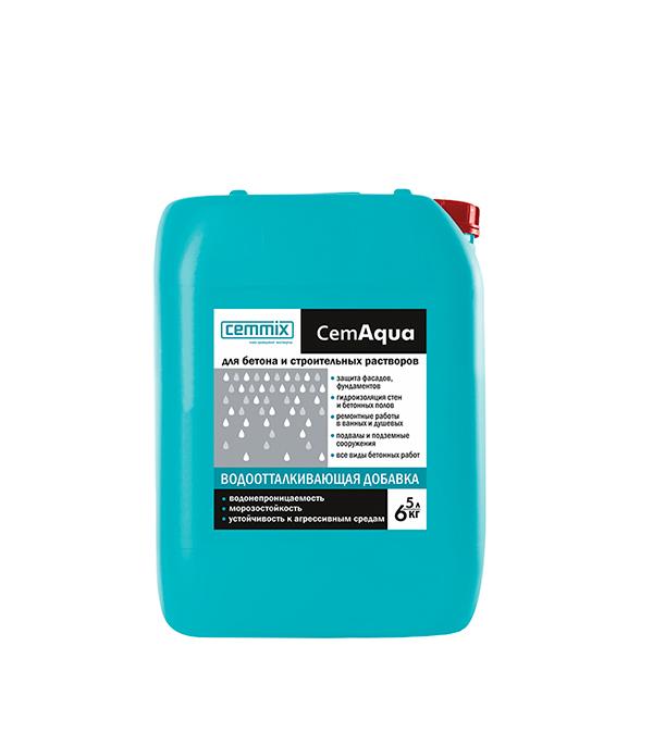 Добавка для бетона водоотталкивающая CemAgua 5 л