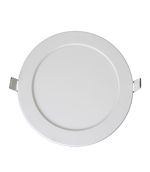 Светильник встраиваемый светодиодный  9 Вт круглый белый, IP20, 6500K (холодный свет), Jazzway