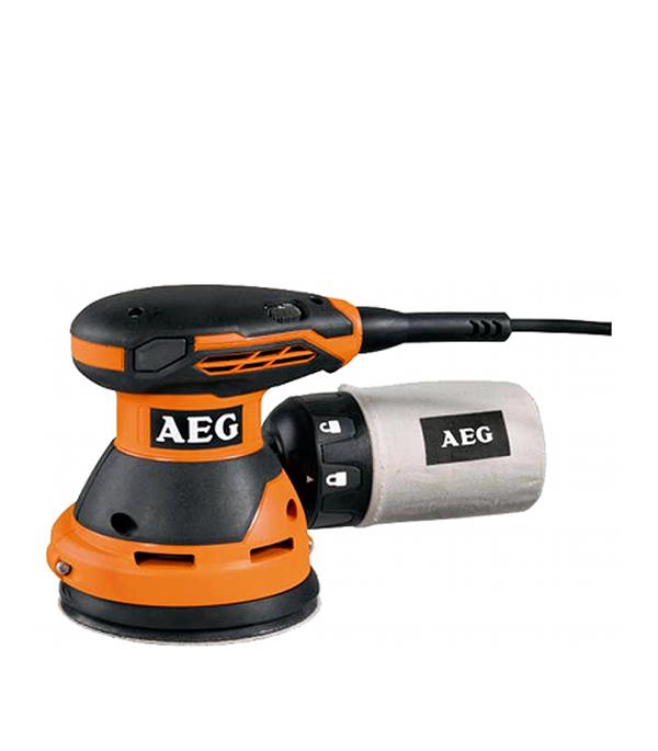Шлифмашина эксцентриковая AEG EX 125 ES 300 Вт 125 мм эксцентриковая шлифмашина aeg ex 150 es 443290
