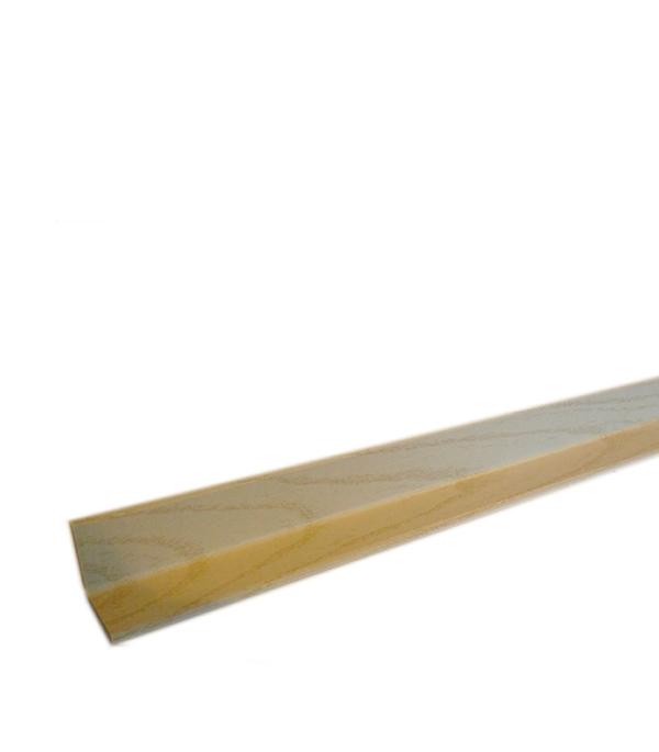 Уголок складной МДФ ясень пористый 28х28х2600 мм Кроностар