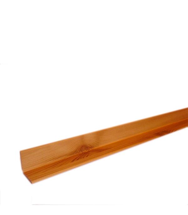 Уголок складной МДФ сосна светлая 28х28х2600 мм Кроностар