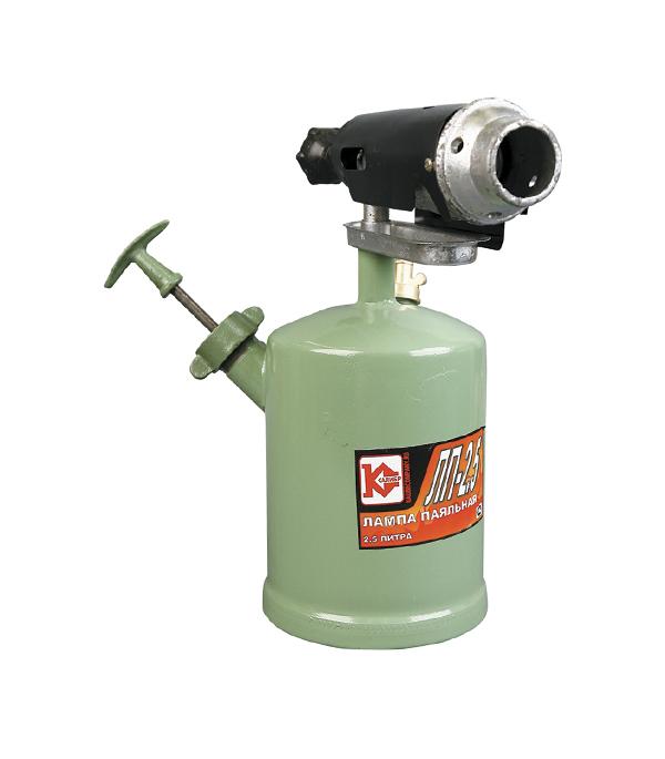 Лампа паяльная бензиновая Калибр ЛП-2.5  лампа паяльная fit бензиновая 1 л