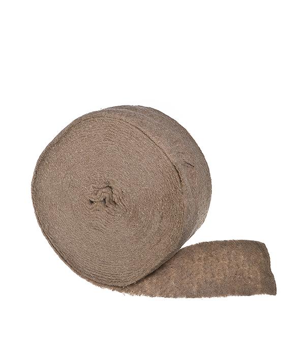 Утеплитель межвенцовый (уплотнитель) джутовый  8-10 мм 0,1х10 м