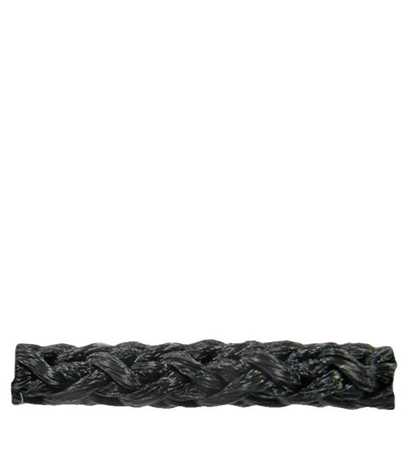 Шнур плетеный без сердеч. черный  d5 мм полипропиленовый