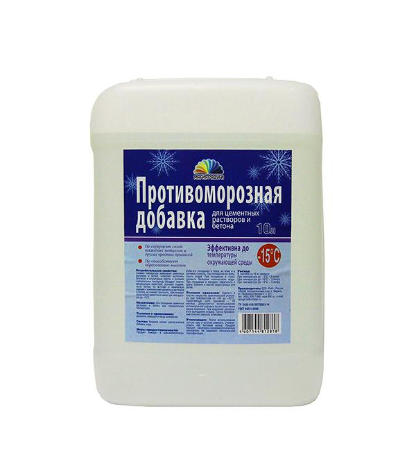 Противоморозная добавка для бетона Радуга Формиат Натрия 10 л форма для блоков для возведения стен купить москва