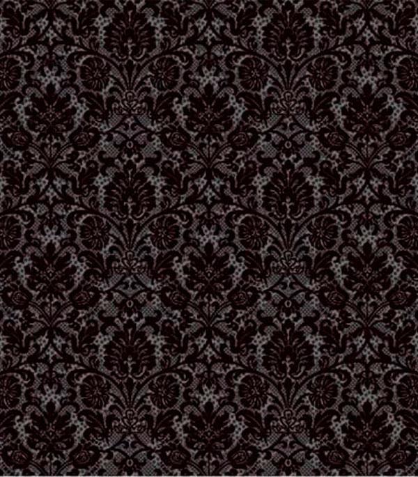 Плитка напольная 400х400х8 мм Органза 5П черная (11 шт.=1,76 кв.м.)