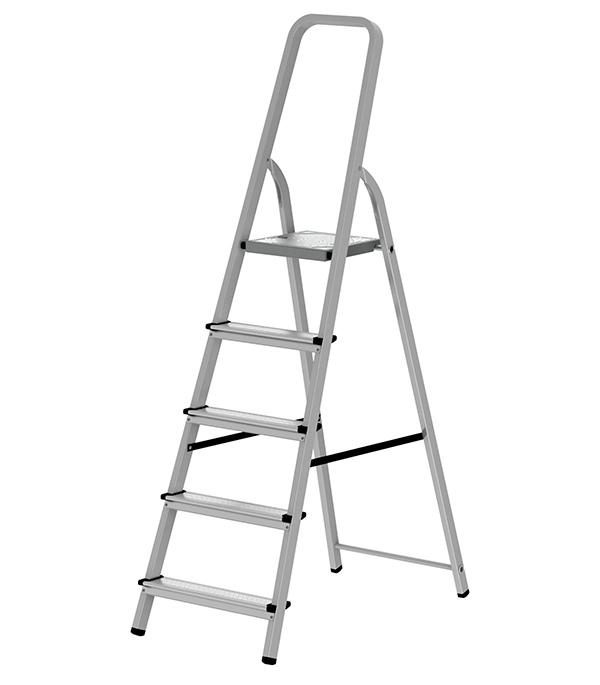 Стремянка Новая высота алюминиевая 5 ступеней стремянка новая высота nv 312 2x3 3120203
