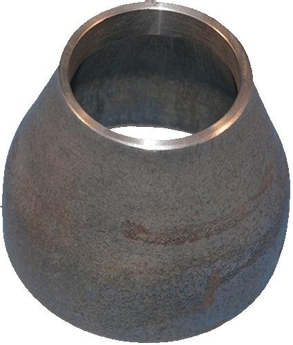 Переход под сварку Ду76х57 кованый стальной черный