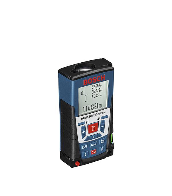 Лазерный дальномер Bosch GLM 150 дальномер лазерный bosch plr 40 c 0603672320
