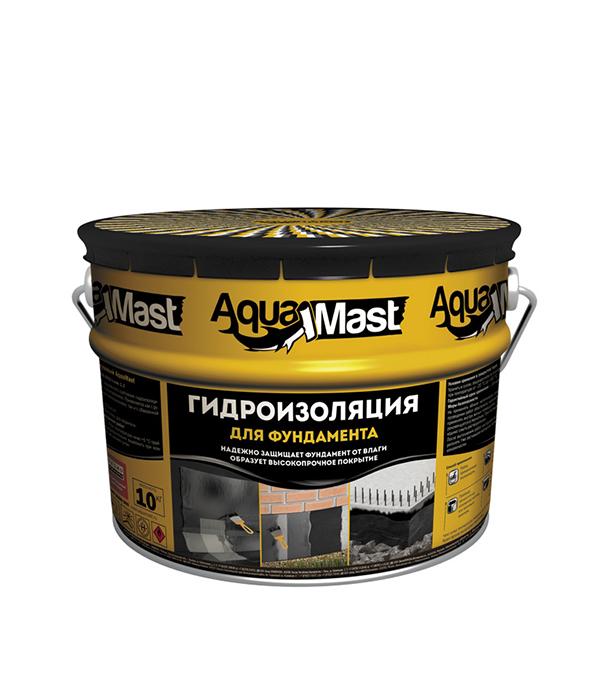 Мастика битумная АкваМаст 10 кг