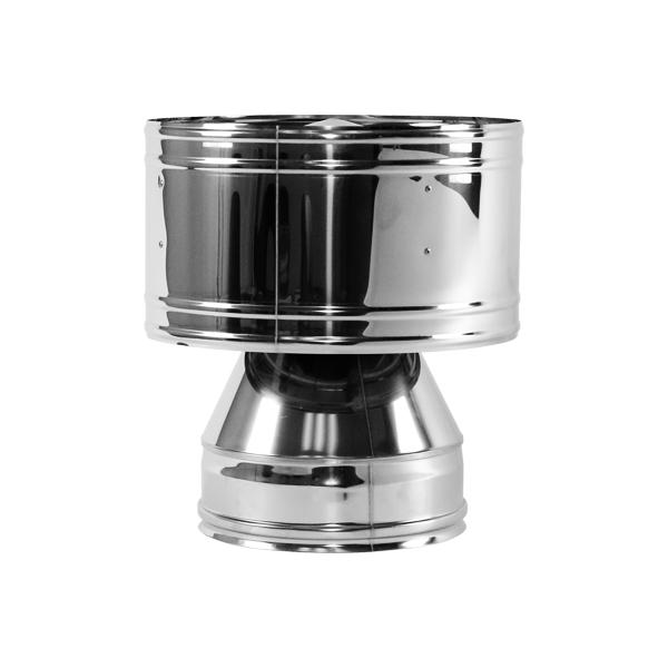 Дефлектор Вулкан V50R 120x220 нерж 321x304 фланец без изол вулкан v50r 720х720 120x220 нерж