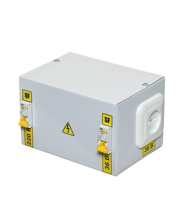 Ящик с понижающим трансформатором ИЭК 220В/36В