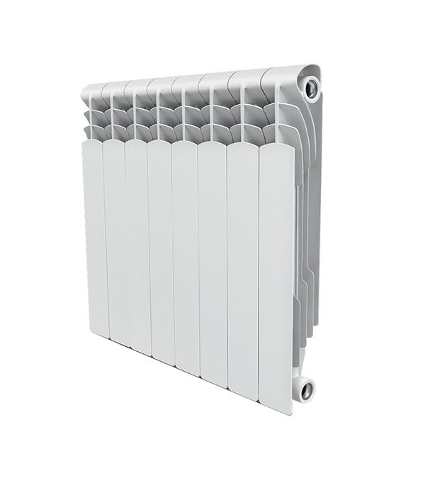 "Радиатор биметаллический 1"" Royal Thermo Revolution Bimetall 500, 8 секций"