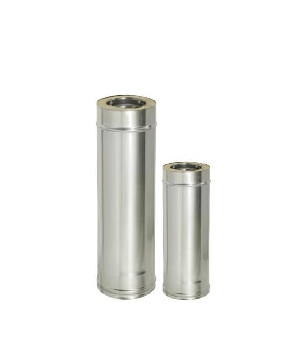 Труба Дымок 1000 мм с изоляцией 150x230 отвод дымок 45° с изоляцией 150x230
