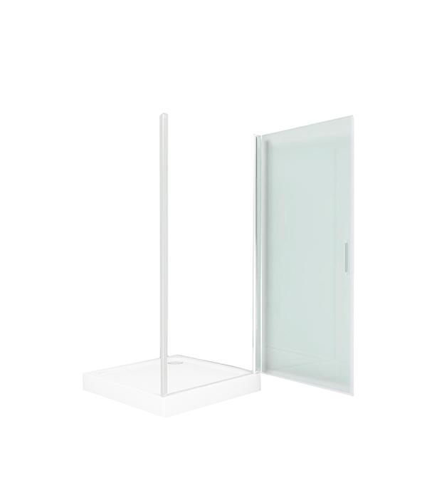 Душевое ограждение прозрачное Дверь Пандора 900х900х1850 мм