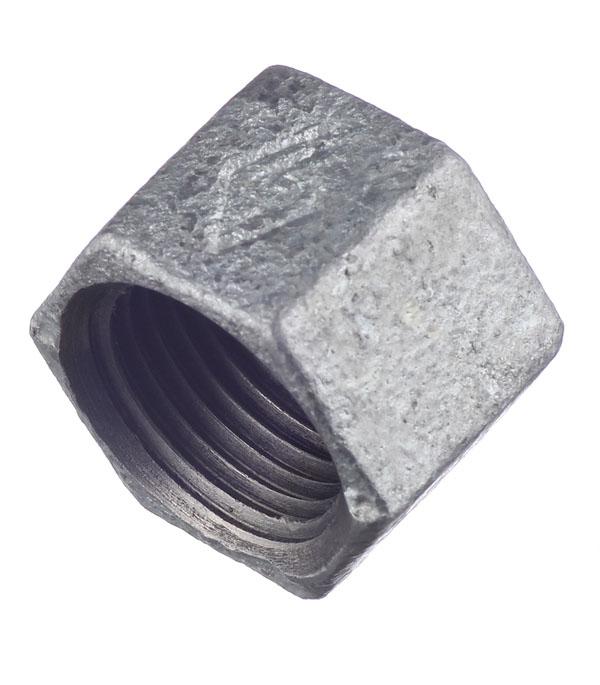 Заглушка 1/2 внутр(г) чугунная оцинкованная чугунная топка магнум чт 1 купить