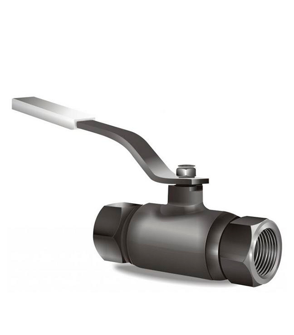 Кран шаровый муфтовый LD PN40 Ду40 1.1/2 в/в стандартнопроходной стальной кран шаровый муфтовый ld pn40 ду40 1 1 2 в в стандартнопроходной стальной