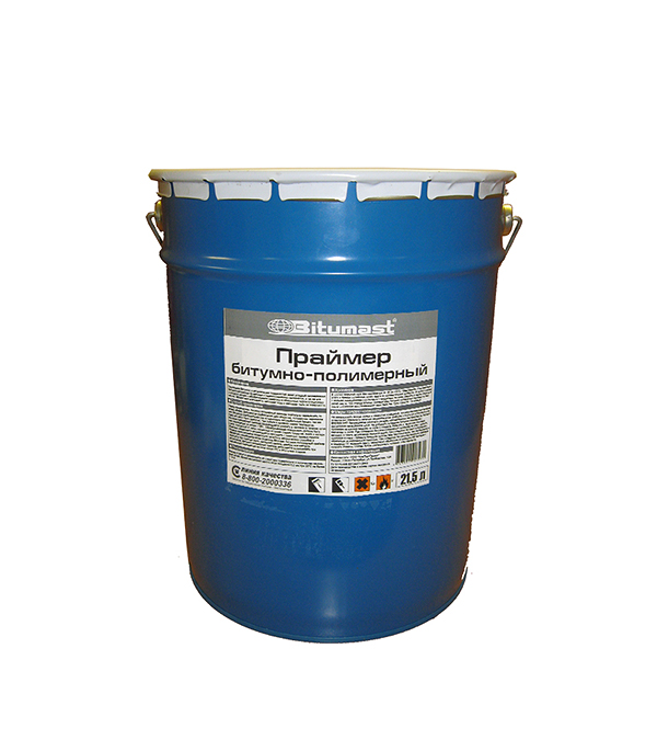 Праймер битумно-полимерный Bitumast 18 кг/21.5 л  цена и фото