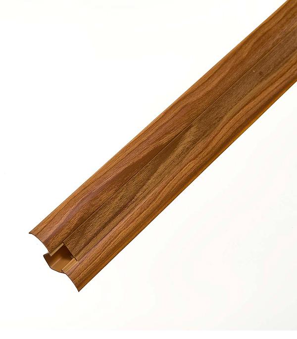 Плинтус с к/к и  мягким краем дуб сучковый 146, 50х23х2500 мм