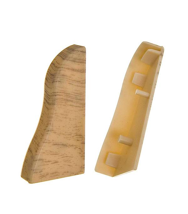 Заглушки торцевые (левая+правая), 50.01 дуб беленный