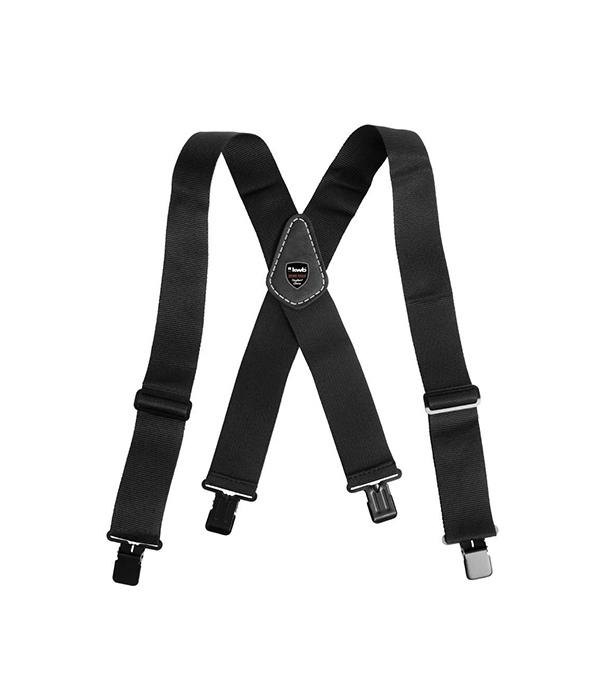 Подтяжки для брюк черные KWB Стандарт
